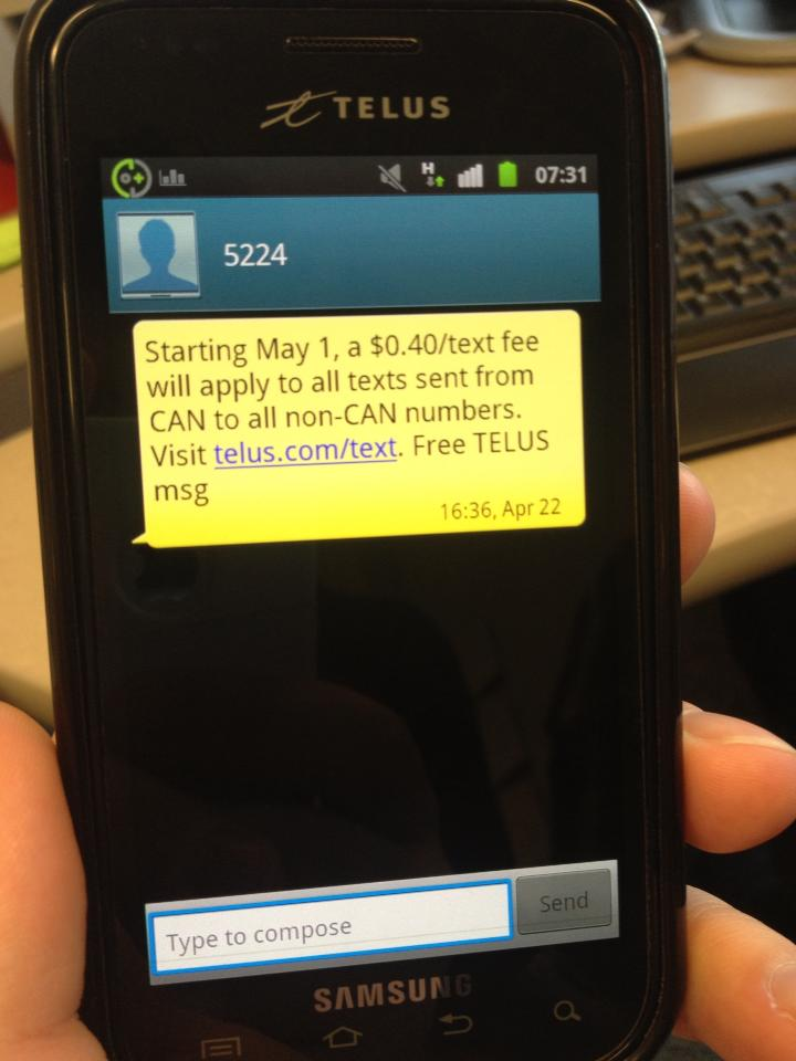 Stop New Telecom Fees